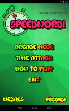 Speedword! apk screenshot