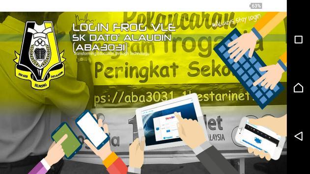 Frog VLE SK Dato' Alaudin apk screenshot