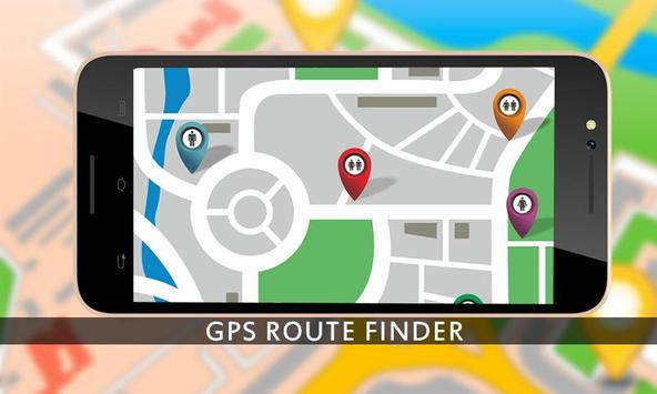 GPS Route Finder GPS Navigation GPS Tracker maps screenshot 4