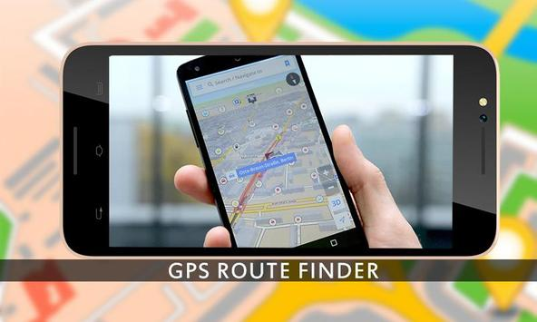 GPS Route Finder GPS Navigation GPS Tracker maps screenshot 5