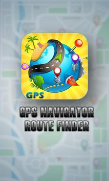 GPS Route Finder GPS Navigation GPS Tracker maps poster