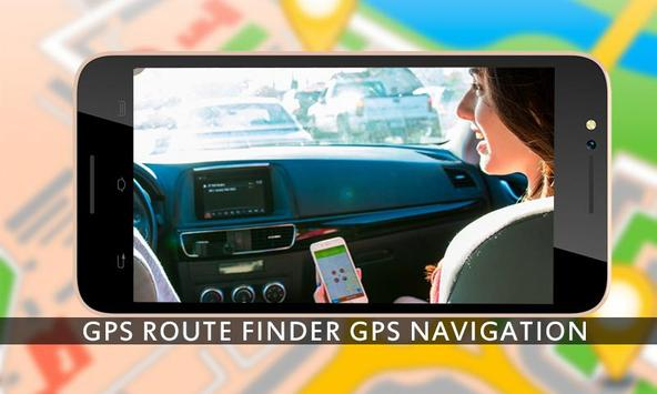 GPS Route Finder GPS Navigation GPS Tracker maps screenshot 2