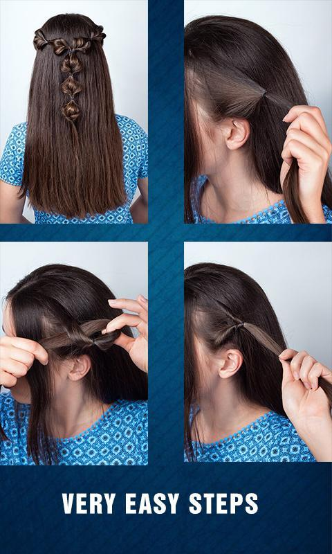 Cute Girls Hairstyle Tutorial Step By Step 2019 For Android