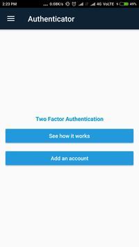 Authenticator apk screenshot