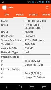 INFO (System & Hardware info) screenshot 1