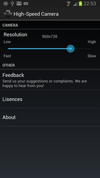 High-Speed Camera - Burst Mode apk screenshot