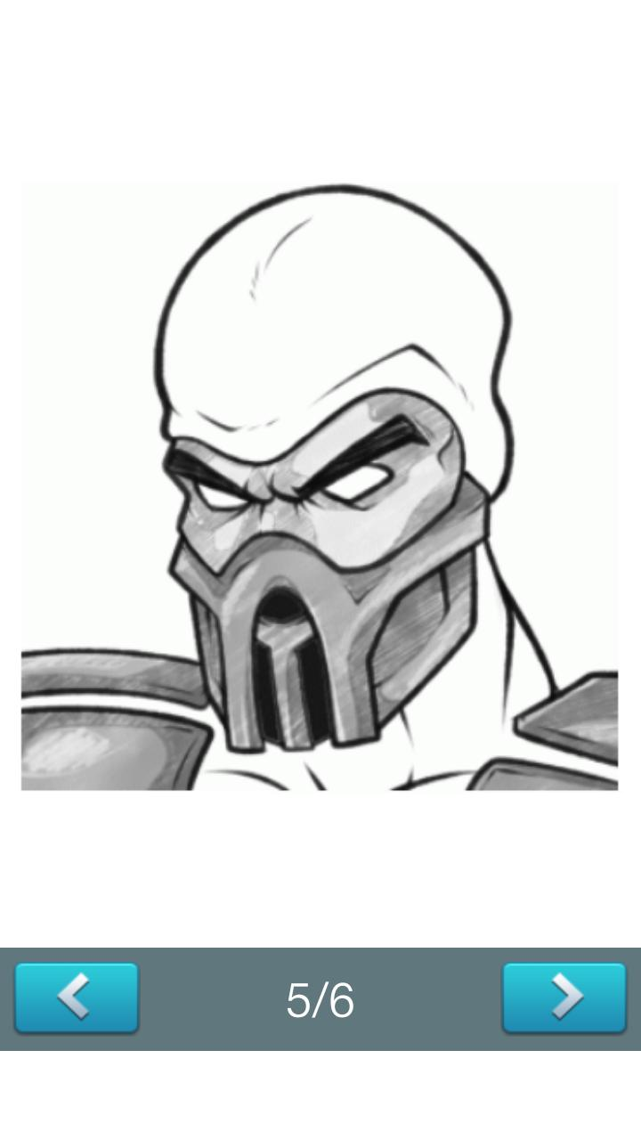 How To Draw Mortal Kombat For Android Apk Download