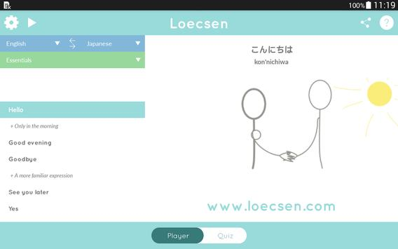 Loecsen screenshot 10