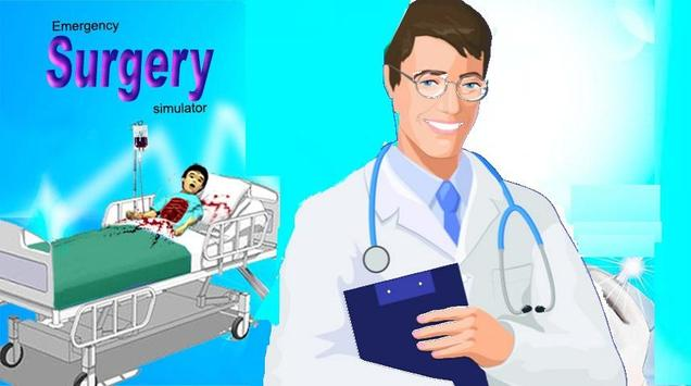 surgery simulator:crazy doctor poster