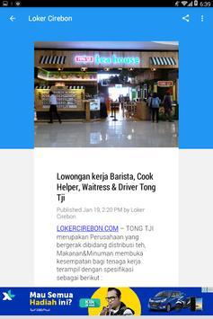 Loker Cirebon screenshot 2