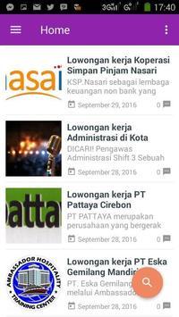 Loker Cirebon screenshot 1