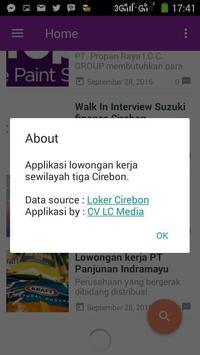 Loker Cirebon screenshot 4