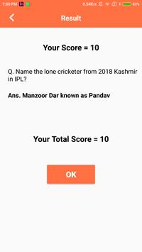 IPL 2018 Contest(Play and Win  Exciting Prizes) screenshot 5