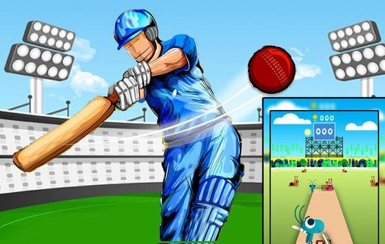 Dhoni Super Cricket World - Free Game poster
