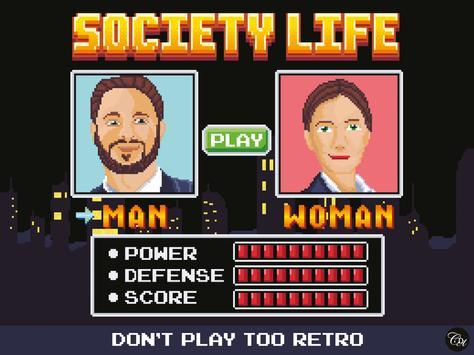 Society Life poster