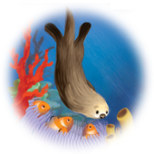 Little Otter Goes Fishing icon