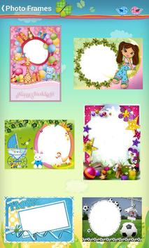 Kids Baby Photo Frames poster