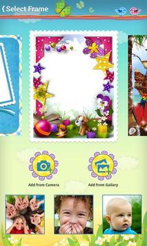 Kids Baby Photo Frames apk screenshot