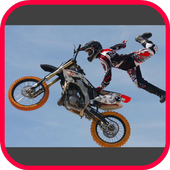 Motorcross In Action Photo Frames icon