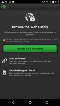 Lookout Security Extension screenshot 1