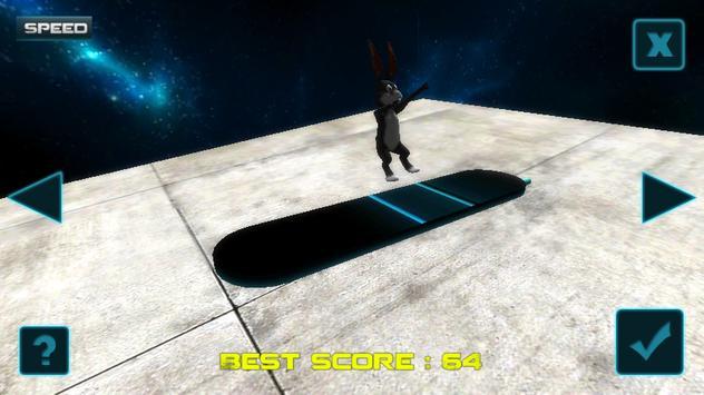 Speed Rabbit Surfer Infinite poster