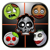 Scary Horror Sticker icon