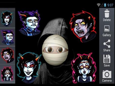 Scary Horror Sticker screenshot 2