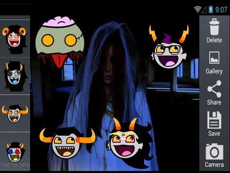 Scary Horror Sticker screenshot 3