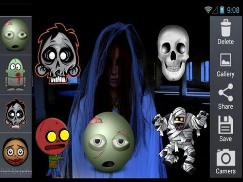 Scary Horror Sticker screenshot 4