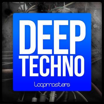 Deep Techno for Soundcamp poster