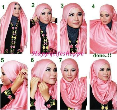 Loose Hijab Tutorials poster