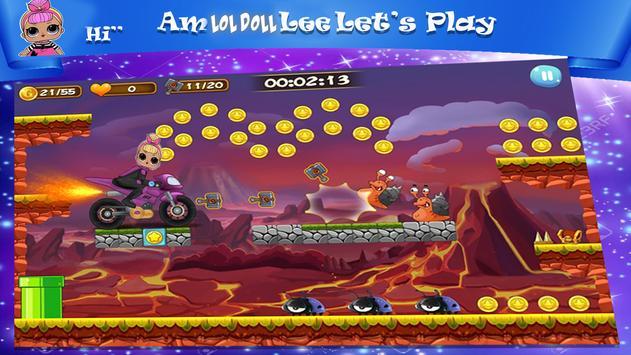 Lol Surprise  Eggs Racing Dolls Game apk screenshot
