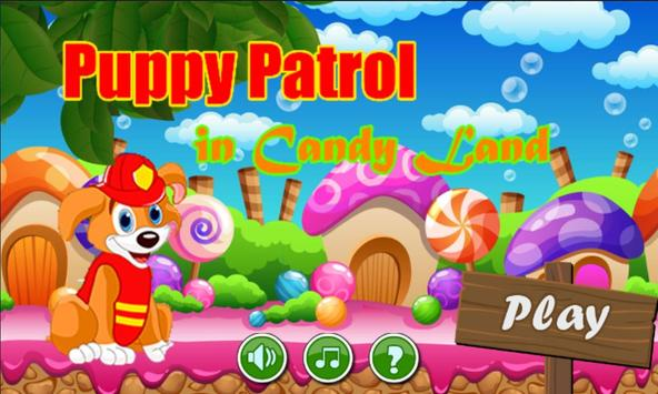 Paw Puppy Patrol in Candy Land poster