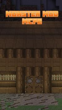 Monster Mod For MCPE' apk screenshot