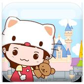 YoYo kitty livewallpaper icon