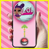 Catch lol surprise eggs dolls opening ball 😍💖 icon
