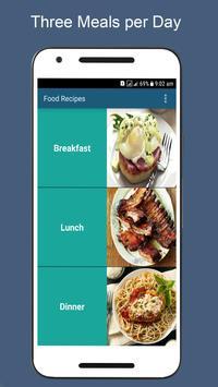 Food Recipes screenshot 1