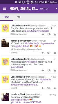 Lollapalooza Berlin apk screenshot