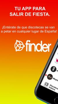 Finder - where are you going this weekend? poster