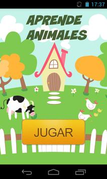 Aprende Animales poster
