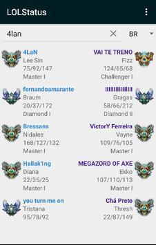 Stats for League of Legends apk screenshot