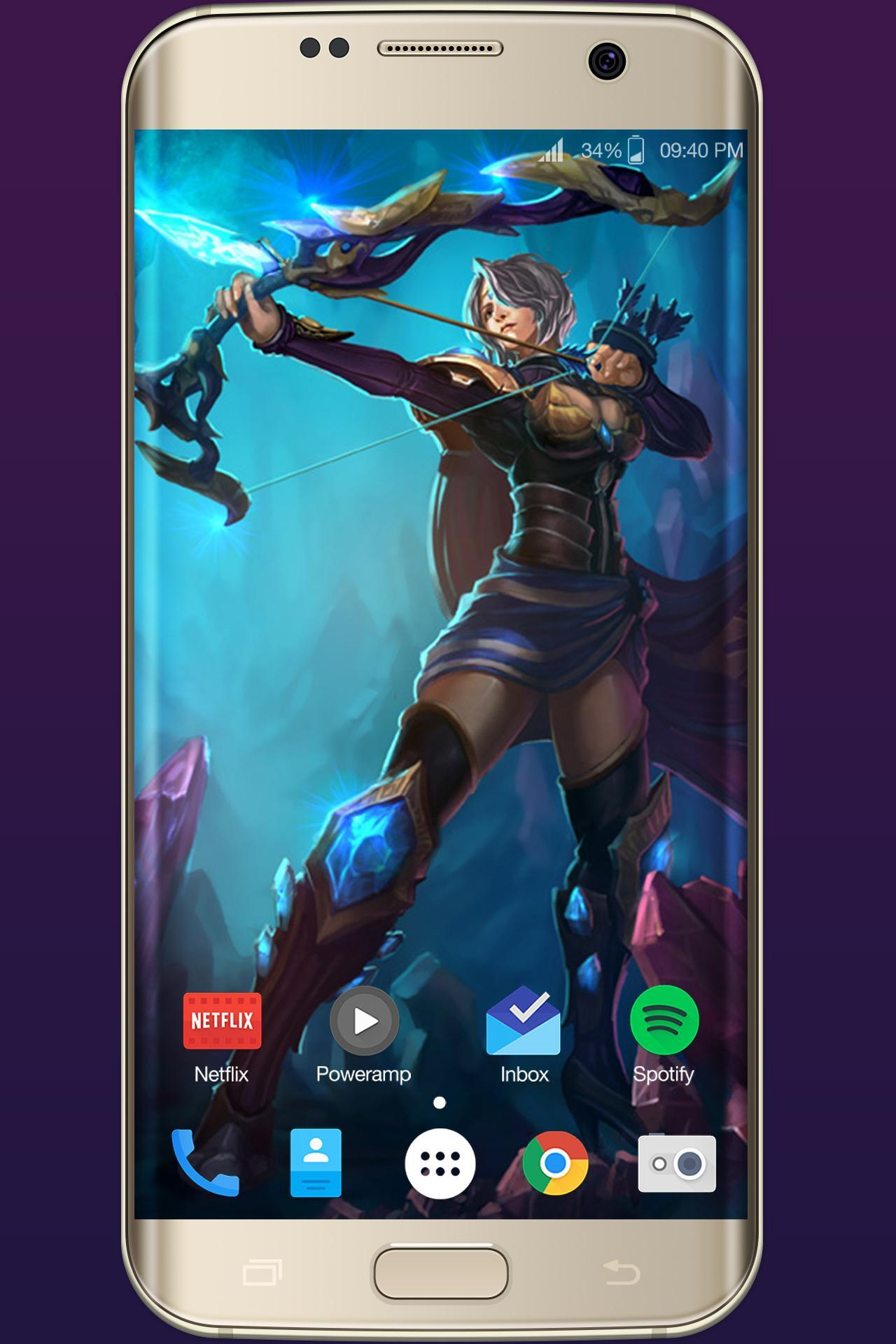 Ashe Lol Wallpapers For Android Apk Download