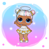 Pet Surprise Dolls Unbox Egg:Lol Glam Glitter Game icon