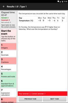 GCSE Maths Numbers Workout apk screenshot