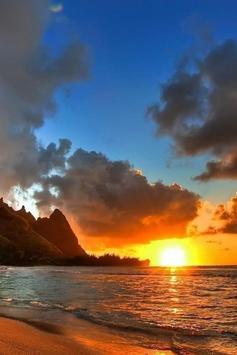 Lombok Sunset Wallpaper screenshot 5