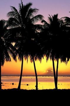 Lombok Sunset Wallpaper screenshot 1