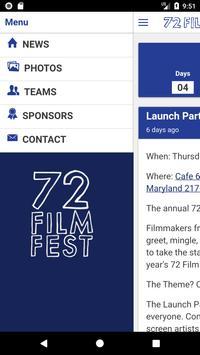 72 Film Fest apk screenshot