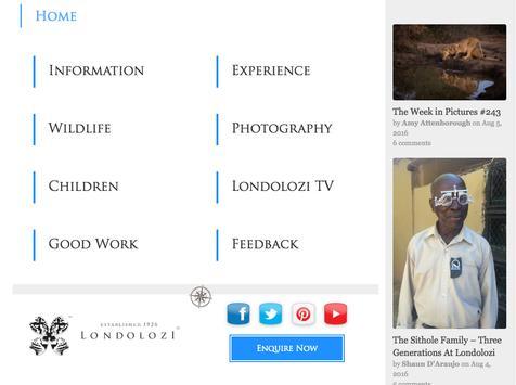 Londolozi Private Game Reserve apk screenshot