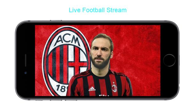 Italian Live TV & Football screenshot 1