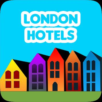 London Hotels poster